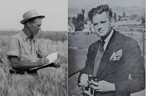"""The Wizard and the Prophet"" looks at the world's most threatening challenges through the eyes of scientists Norman Borlaug (left) and William Vogt. (Photos: CIMMYT, AICBC)"