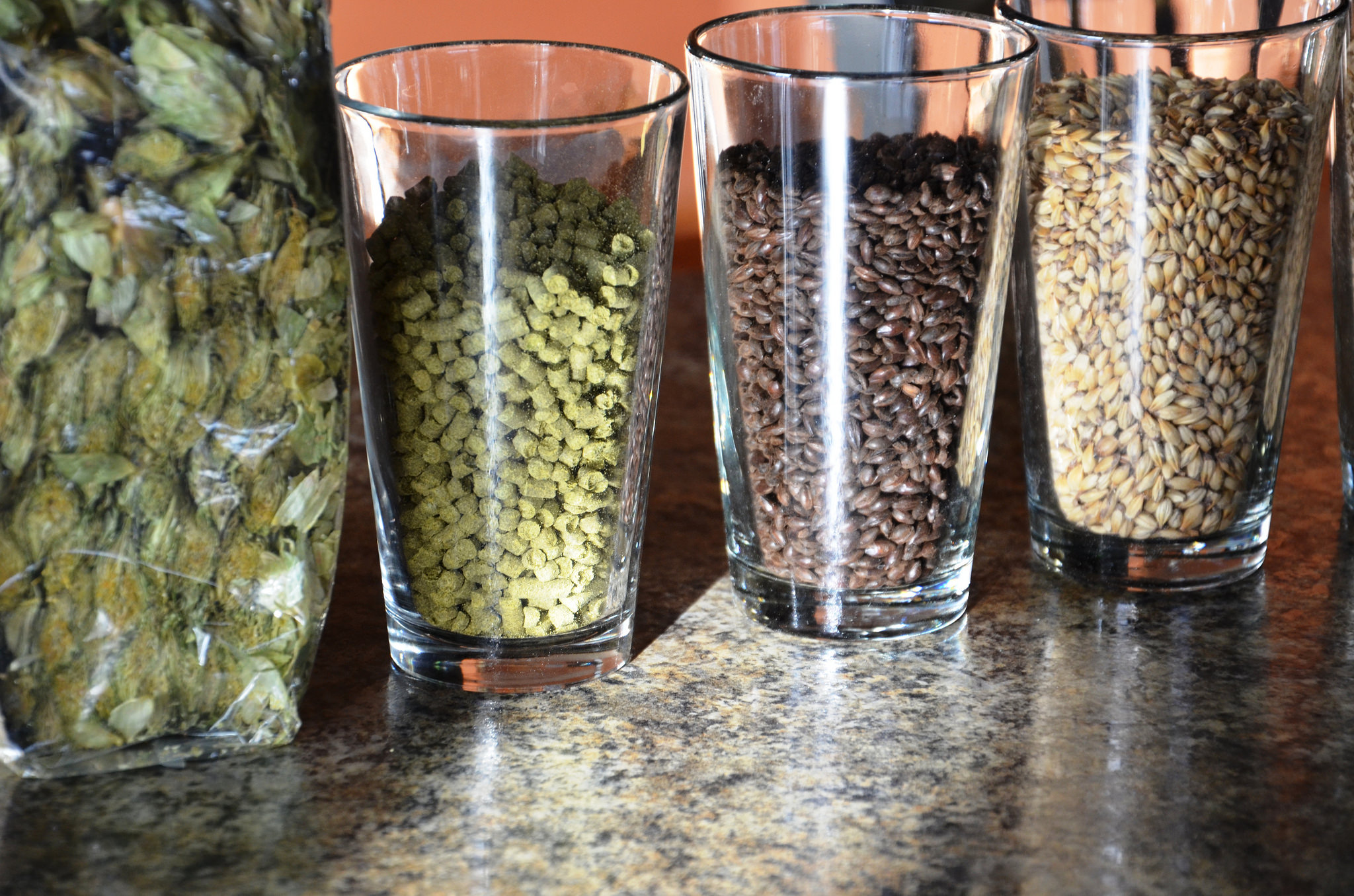 Beer brewing ingredients (Photo: Baker County Tourism)