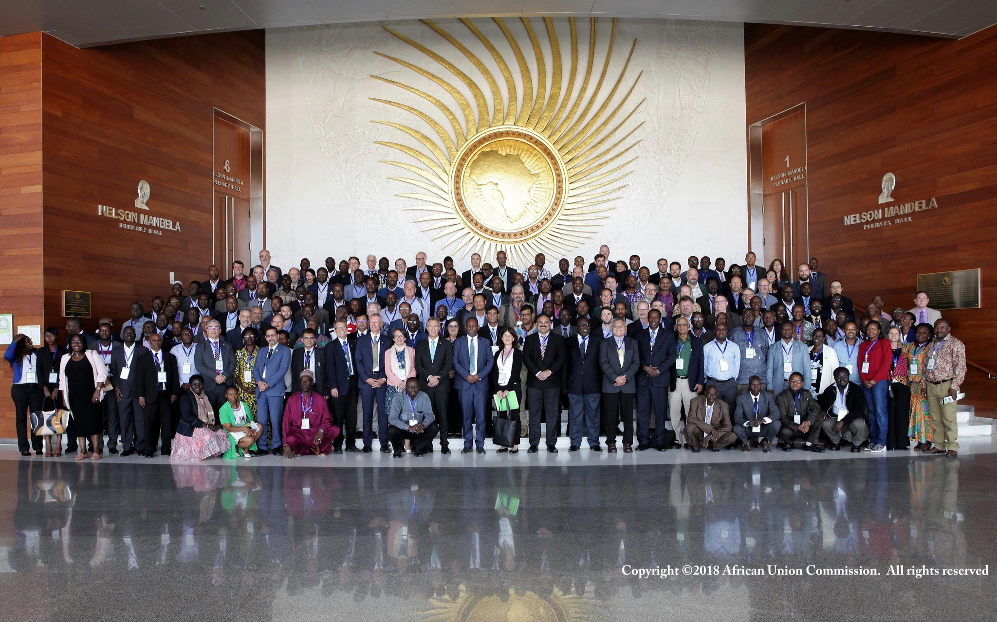 The conference organized by the Fall Armyworm R4D International Consortium attracted the interest of a large group of participants. (Photo: African Union Commission)