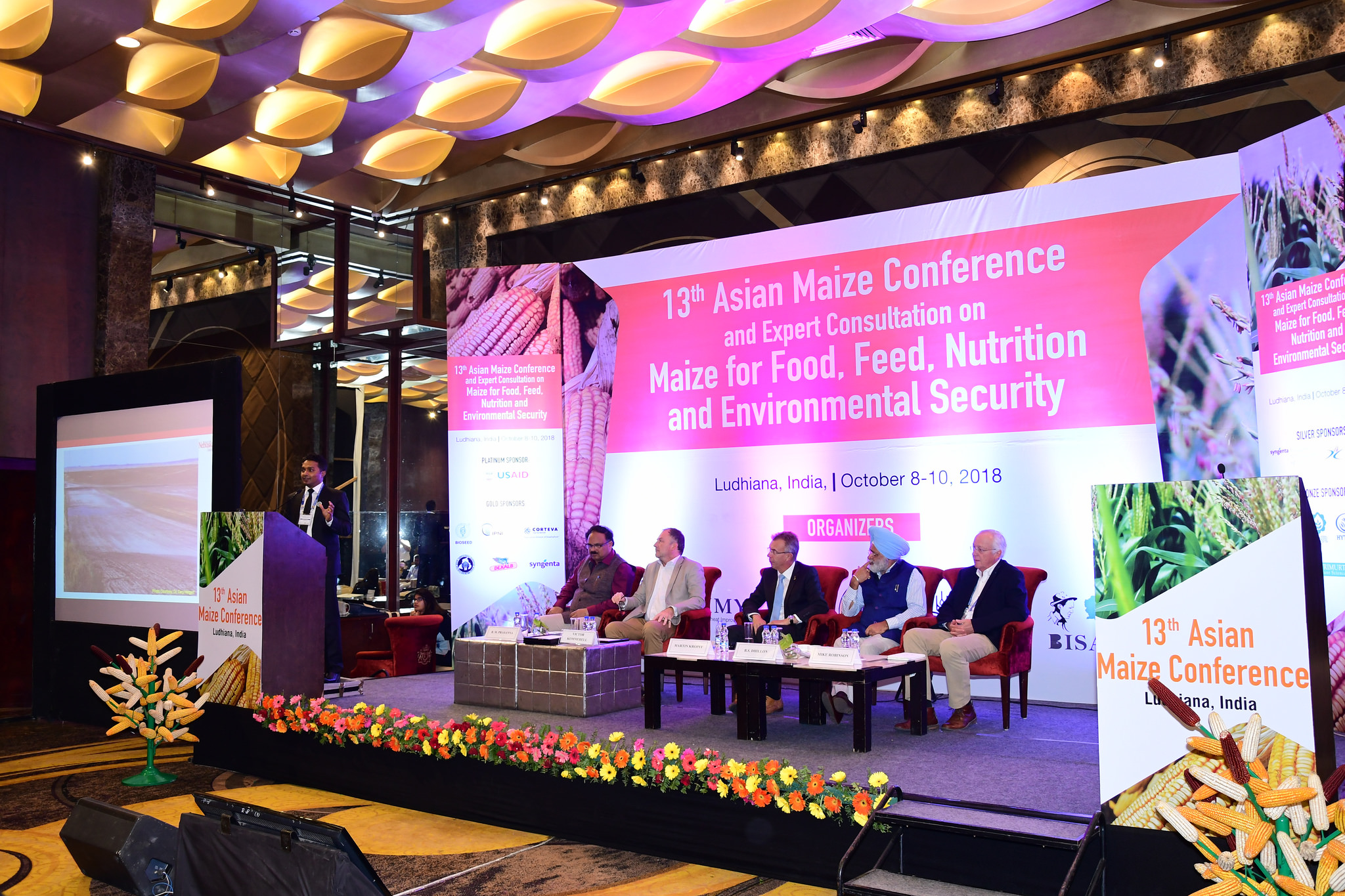 The 13th Asian Maize Conference took place from October 8 to October 10 in Ludhiana, India. (Photo: Manjit Singh/Punjab Agricultural University)