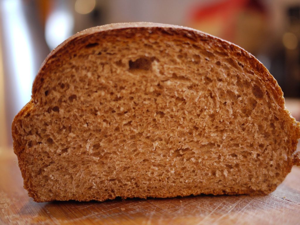 Whole wheat bread. (Photo: Rebecca Siegel/Flickr)