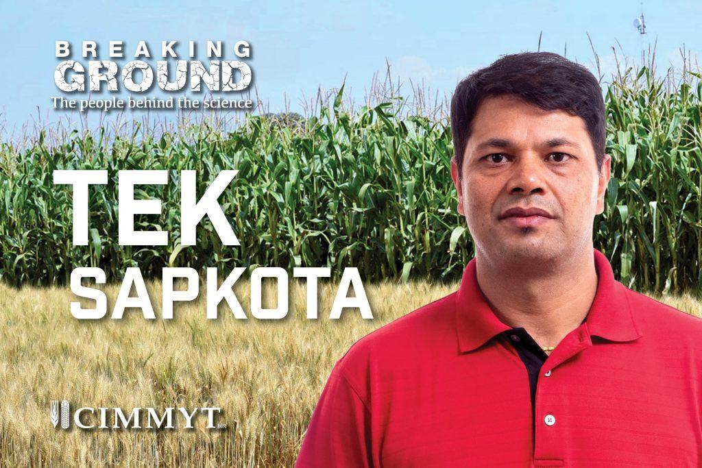 Breaking Ground Postcard TEK SAPKOTA