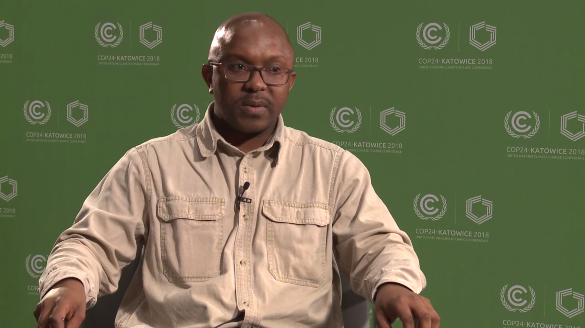 Majola Mabuza, Program Officer, The Southern African Confederation of Agricultural Unions. (Photo: UNFCCC)