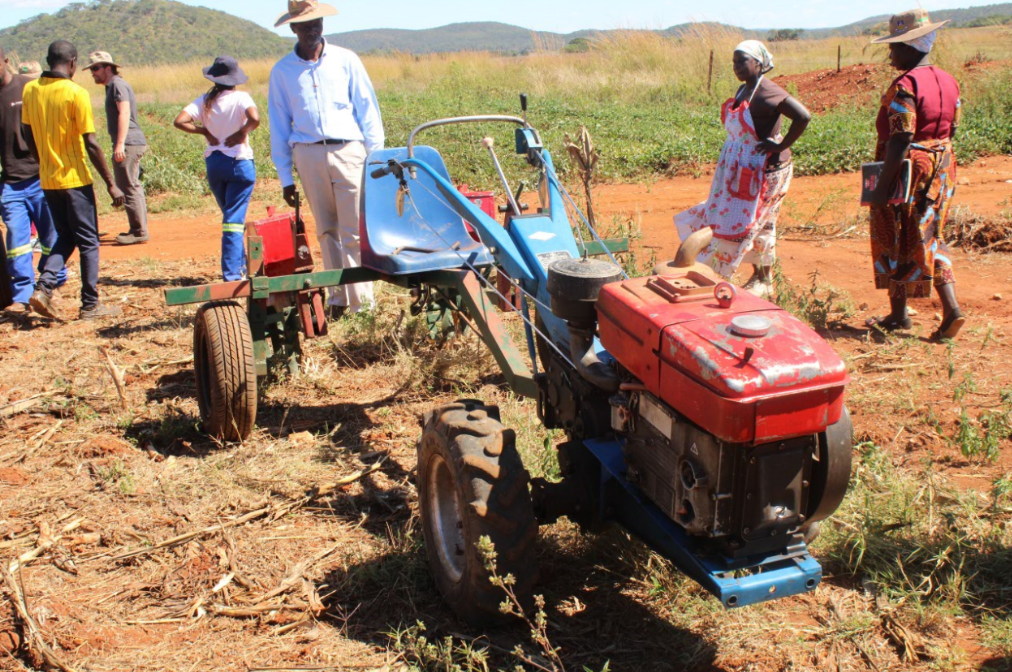 Farm Mechanization and Conservation Agriculture for