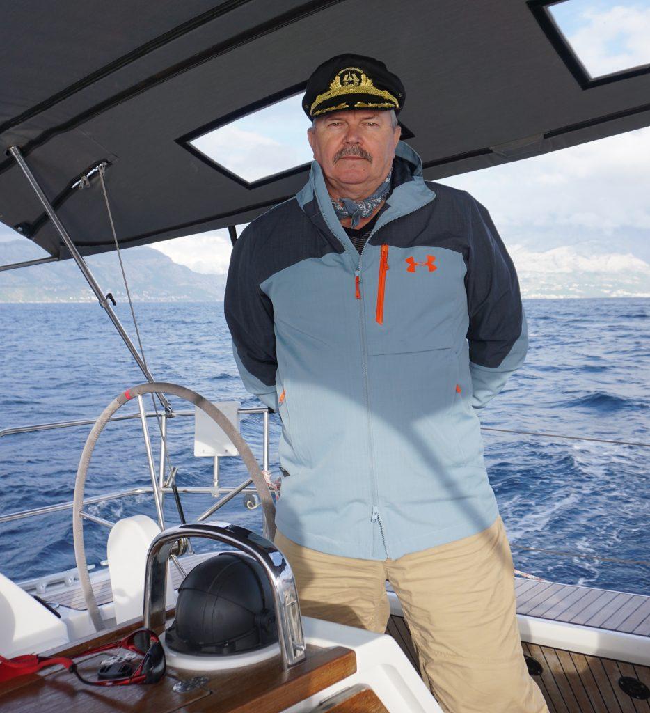 One of Morgunov's passions is sailing. (Photo: Alex Morgunov)