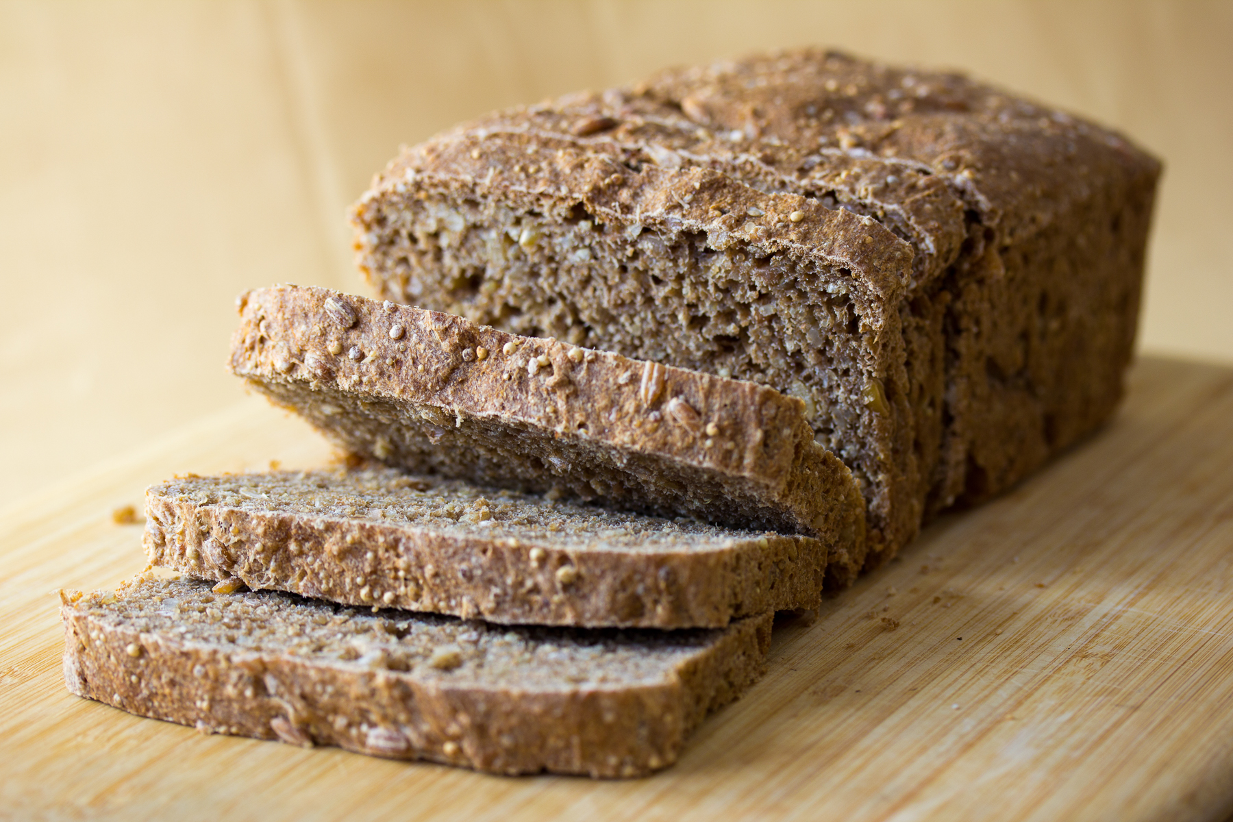 A loaf of whole-wheat bread, which could look brown or white in color, depending on how the wheat flour is processed. (Photo: Mattie Hagedorn)