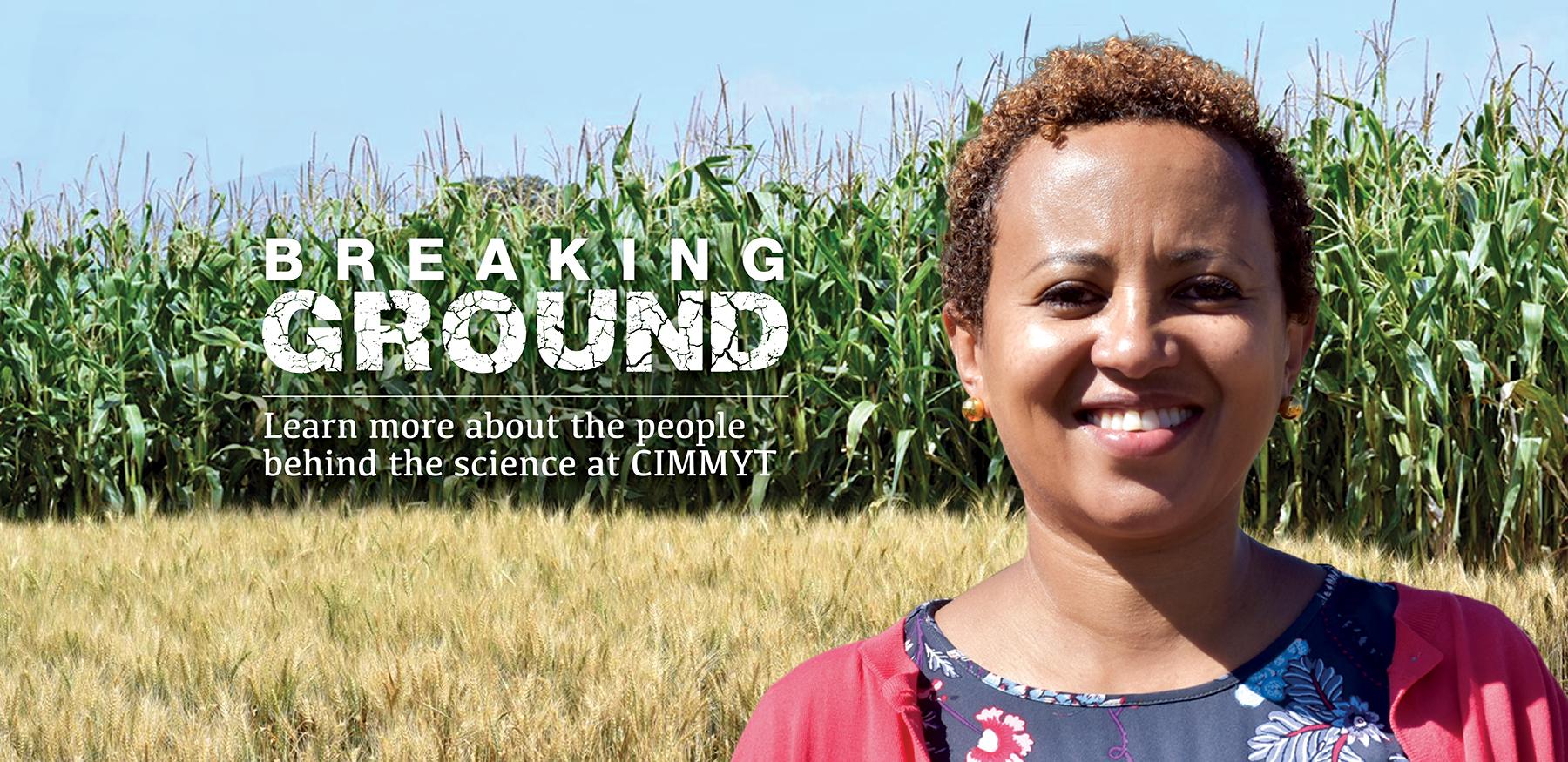 Rahel Assefa Breaking Ground