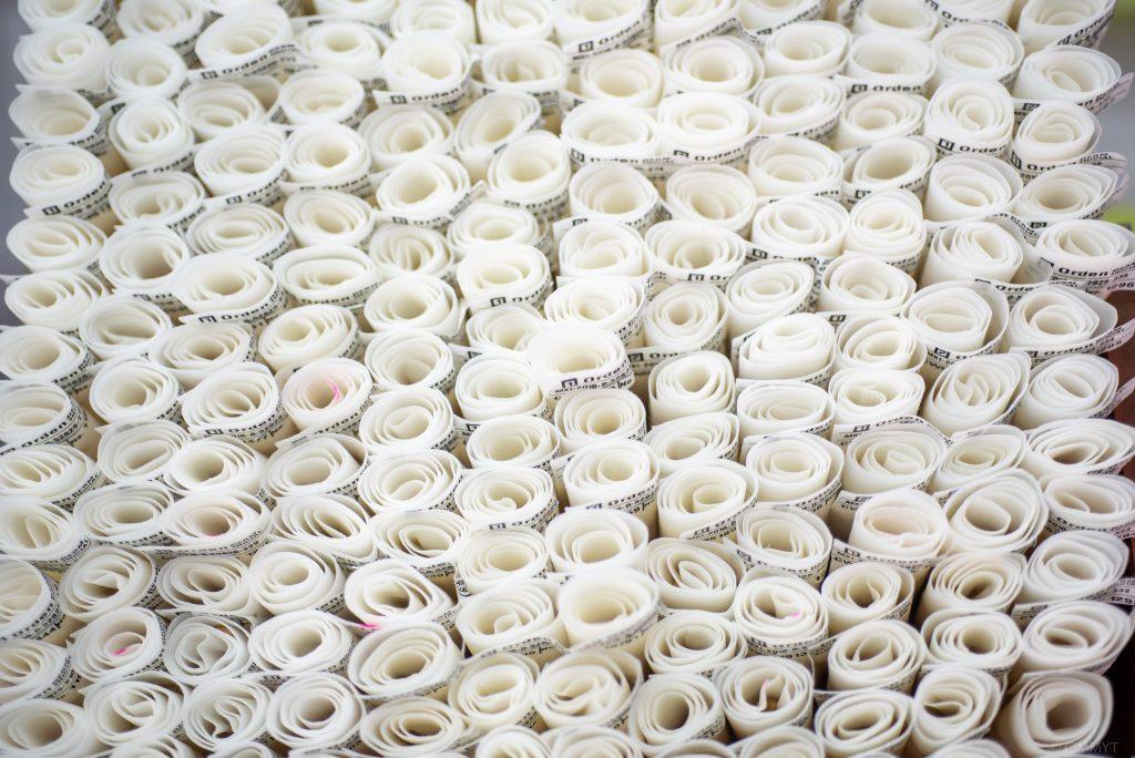 Pruebas de viabilidad de semillas en el banco de germoplasma del CIMMYT. (Foto: Alfonso Cortés/CIMMYT)