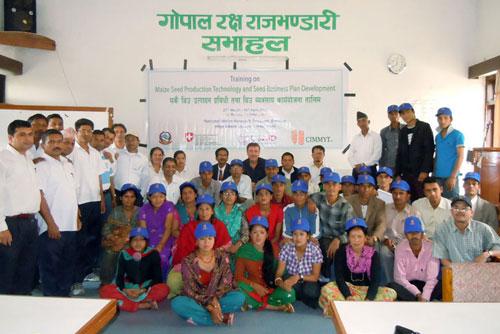 HMRP-2012-Photo-Community-Seed-Promotors-Training-Rampur1