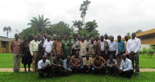 Maize-IITA-training-Aug-Group-picture