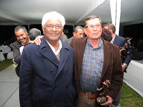 Sanjaya Rajaram and Ramón Gil Montoya attend the event. Photo: Mike Listman
