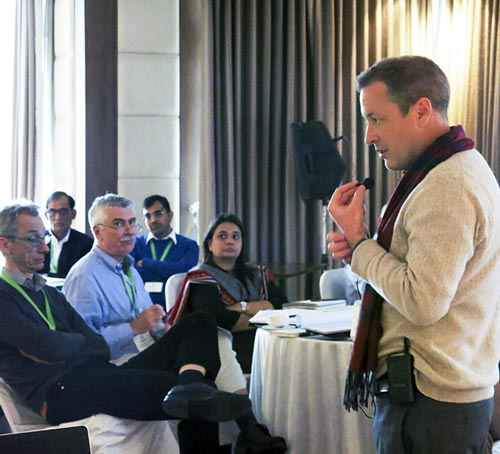 Andrew McDonald, CSISA Project Leader, outlines South Asia agricultural systems and the CSISA initiative
