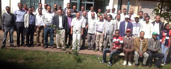 Participants of the CASFESA closure workshop in Ethiopia.