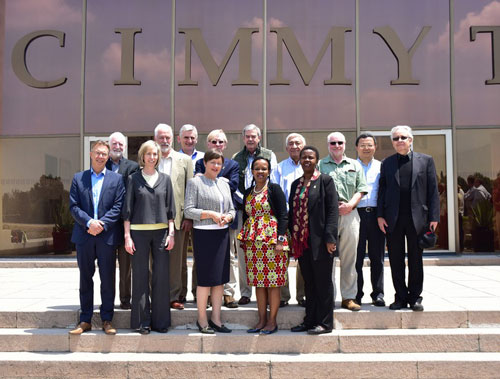 CIMMYT Board of Trustees April 2015