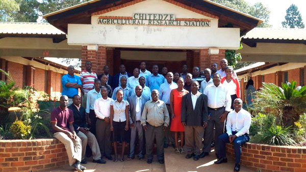 Participants in the integrated maize seed systems training course. Photo: Kennedy Lweya/CIMMYT