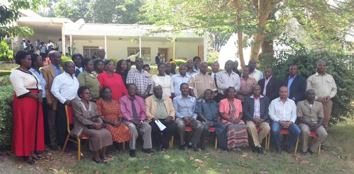 Participants of the project closing workshop held on March 5, 2015.