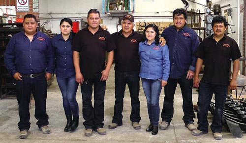 Members of the Sánchez-Gómez family, Sembradoras TIMS. Photo: Luz Paola López Amezcua