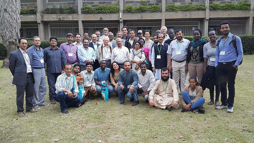 Participants during the training course at KALRO, Njoro. Photo: Sridhar Bhavani.