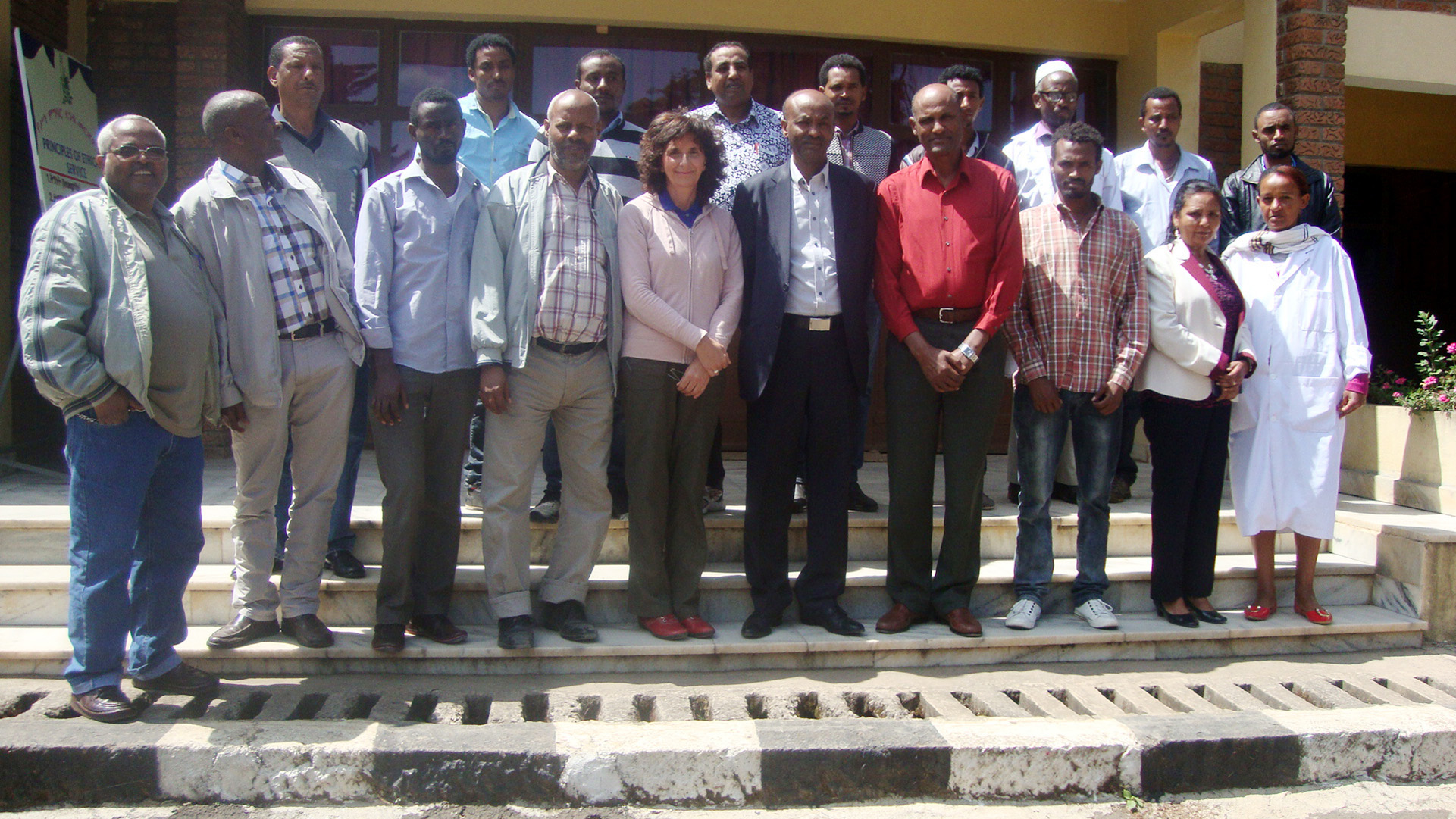 Training participants at Holetta Agricultural Research Center, Ethiopia. Photo courtesy of Bekele Abeyo