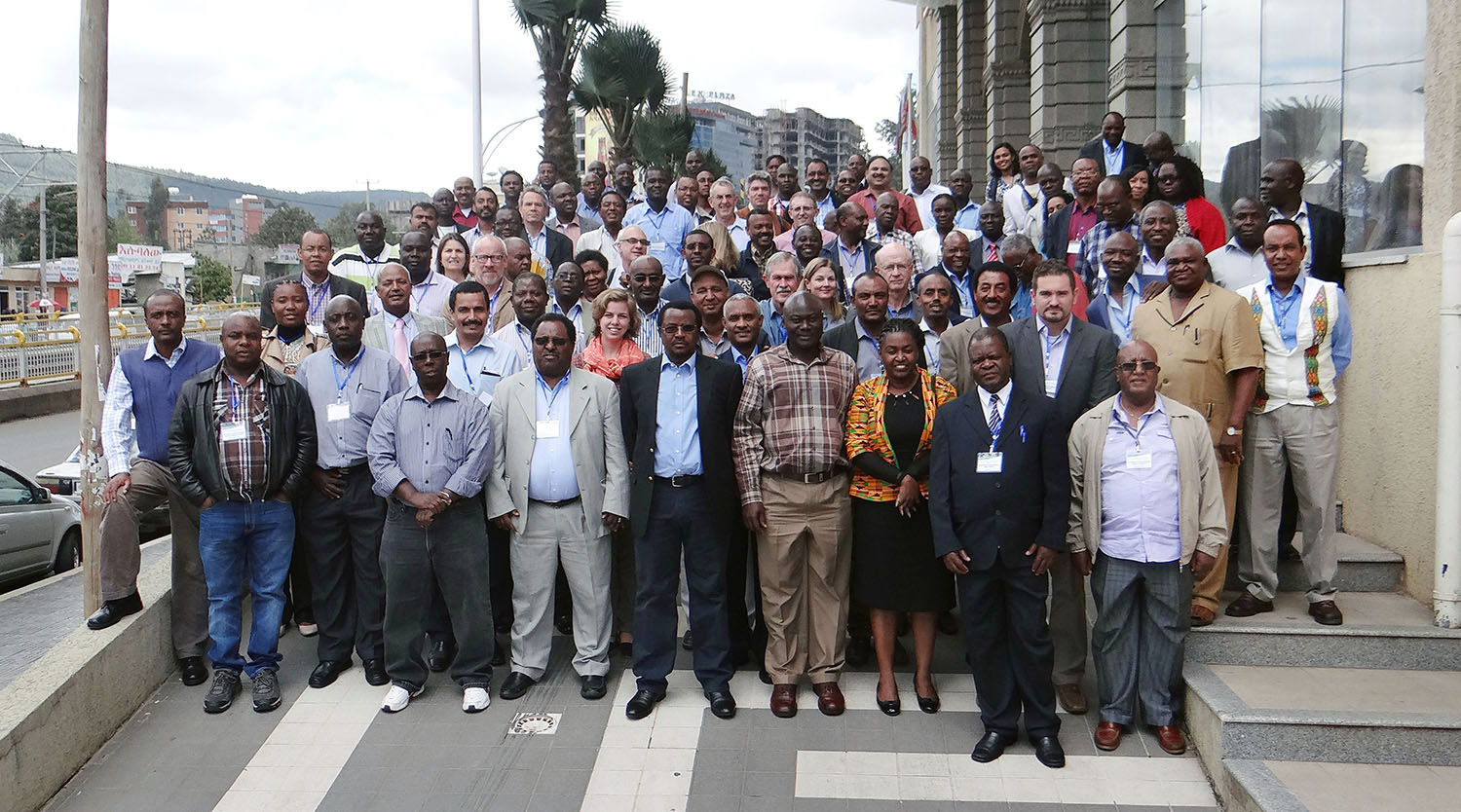 Participants in the joint DTMA and IMAS meeting held in Addis Ababa, Ethiopia. Photo: CIMMYT