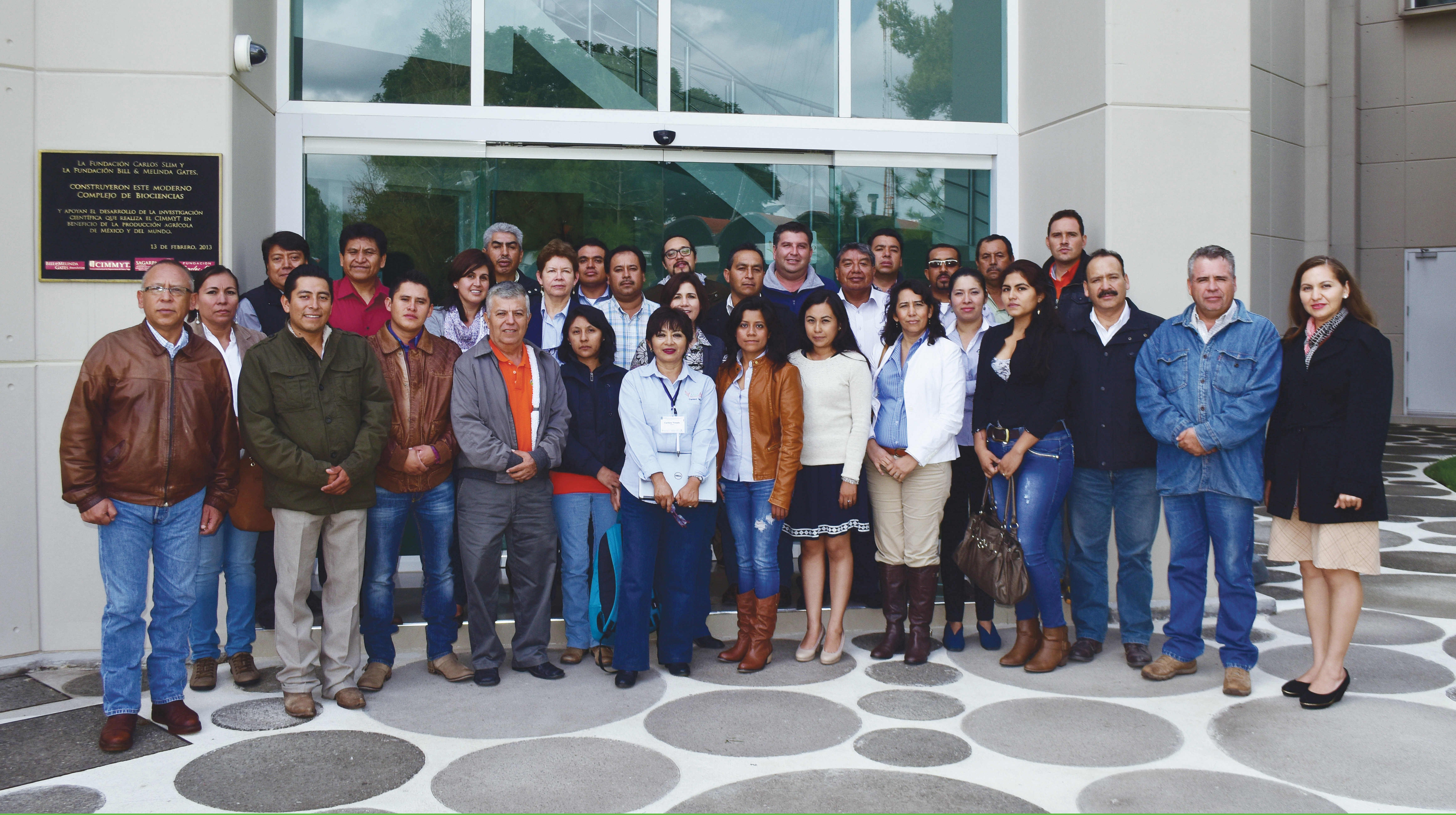 Participants in the maize quality course for seed companies. Photo: Natalia Palacios/CIMMYT.