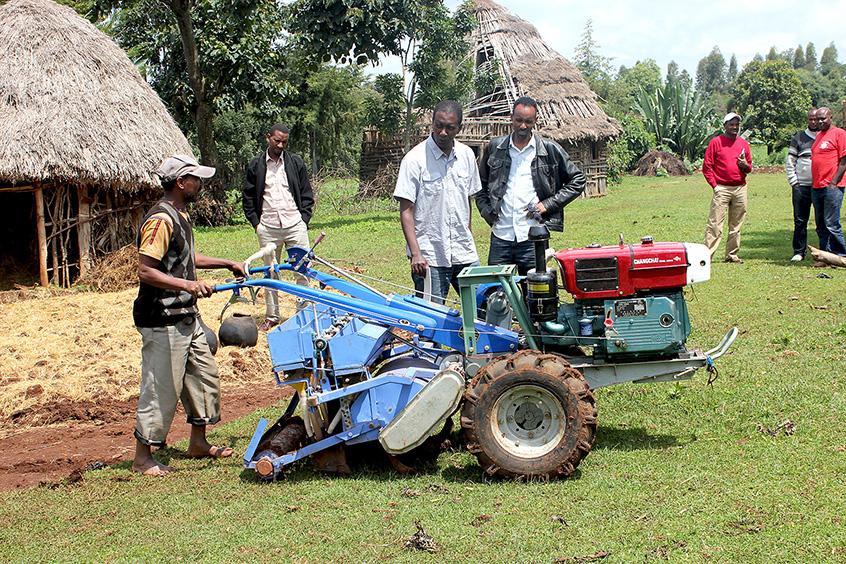 A service provider in Lemo, Ethiopia. Photo: Frédéric Baudron