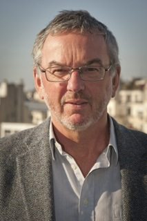 John R. Porter on the top floor of the French National Institute for Agricultural Research (INRA) building in Paris. Porter was honored as a Knight of the Order of Agricultural Merit at a ceremony on 1 March 2016 at the French Embassy in Denmark. Photo: John R. Porter