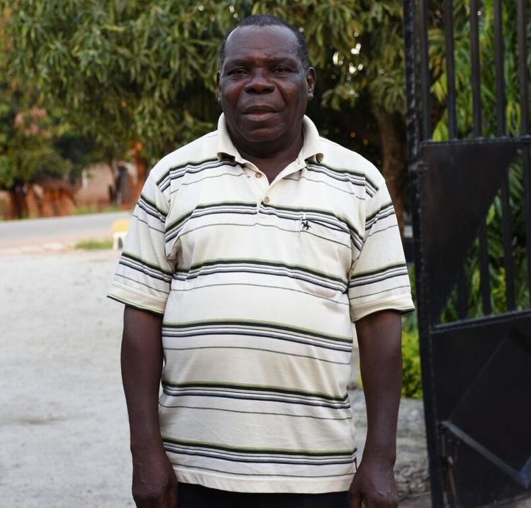 Emmanuel Mponda, IFFA Seed promotions manager. Photo: Kelah Kaimenyi/CIMMYT