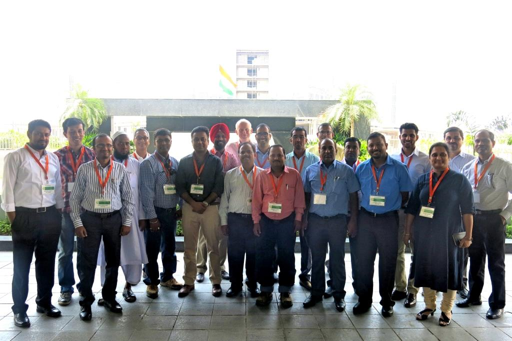 Participants in the LCAT training in New Delhi, India. Photo: Ashwamegh Banerjee/CIMMYT
