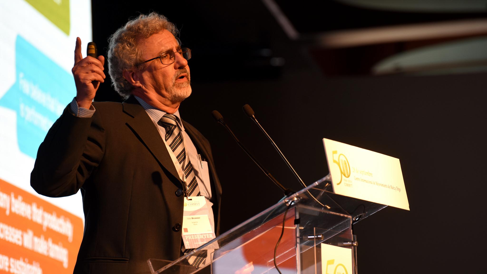 Valter Brunner, Syngenta's Corporate Affairs Director for Latin America. Photo: CIMMYT