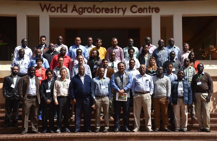 Participants of a recent maize breeding training course in Nairobi, Kenya, June 2017. Photo: B. Wawa/CIMMYT