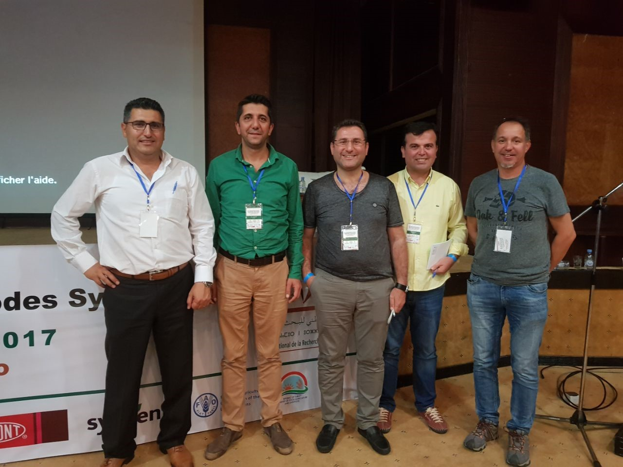 Turkish delegates at the 6th International Cereal Nematode Symposium. Photo: Abdelfattah Dababat/ CIMMYT