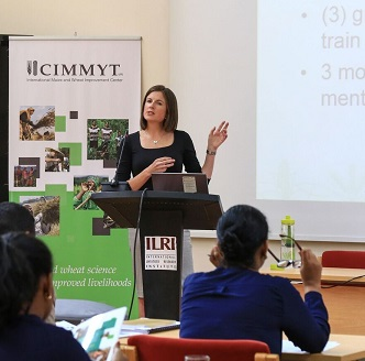Kristie Drucza leads a gender workshop. Photo courtesy of Kristie Drucza.
