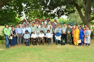 "Group photo at the ""Advanced Course on Conservation Agriculture."" Photo: BISA/Singh, L.K."