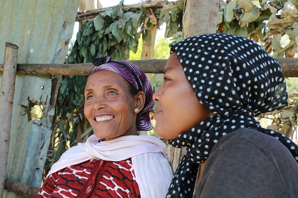 Amarech Desta, Tembo Awtena chairwoman. Photo: CIMMYT/A. Habtamu