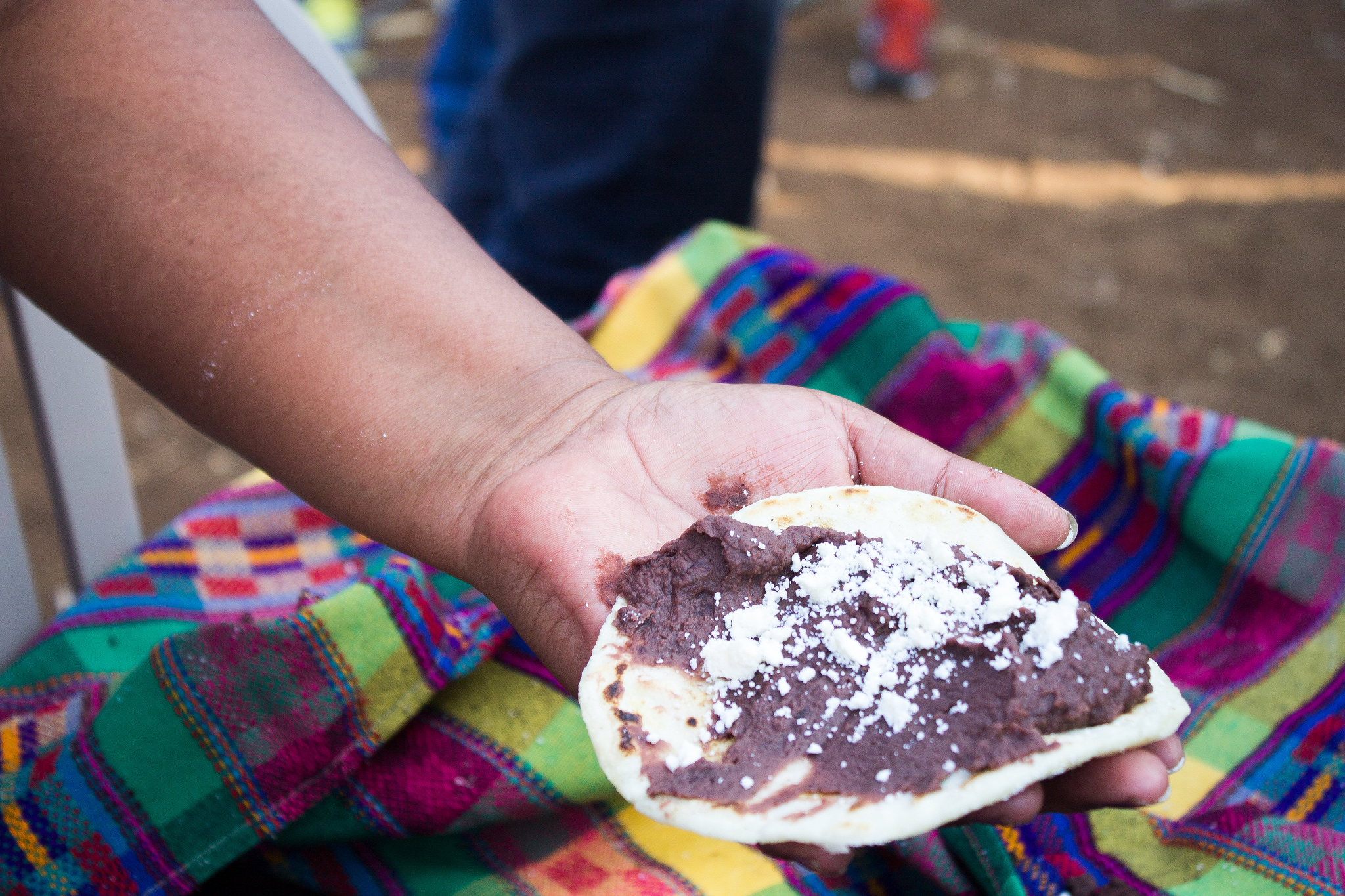 Tortillas made of zinc-enriched biofortified maize. Photo: HarvestPlus.