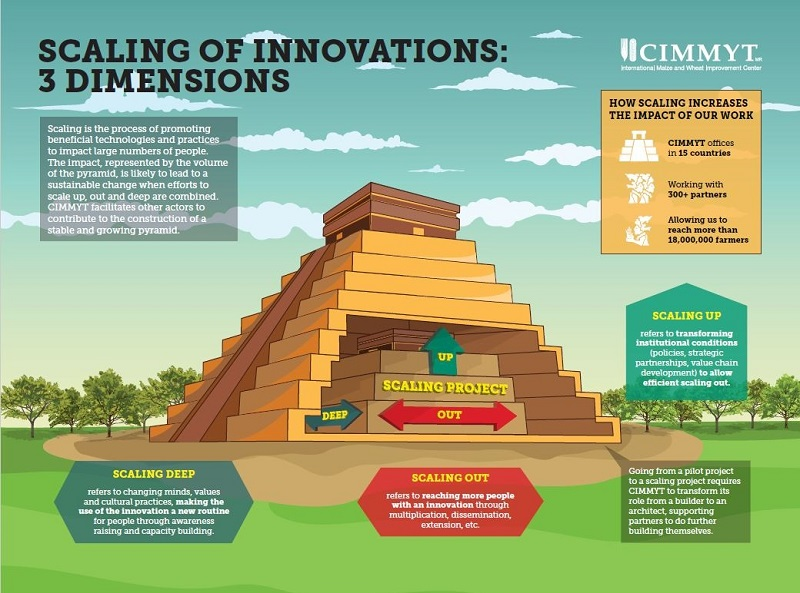Scaling of innovations 3 dimensions - 800