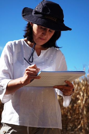 Natalia Palacios, CIMMYT maize quality specialist, spearheads Center work to raise the nutritional value of maize-based foods (Photo: CIMMYT/MListman).